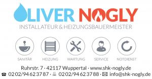 Logo Oliver Nogly, Installateur & Heizungsbauermeister